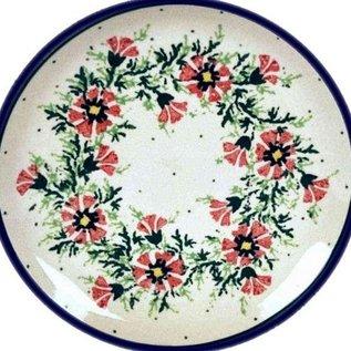 Ceramika Artystyczna Dinner Plate Carnation Pink