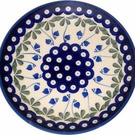 Ceramika Artystyczna Dinner Plate Royal Hanging Hearts