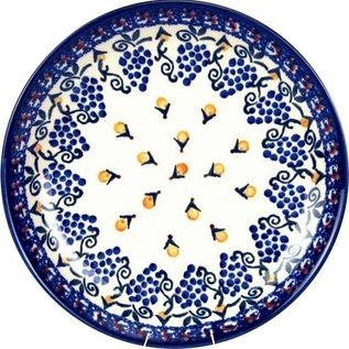 Ceramika Artystyczna Dinner Plate French Grapes