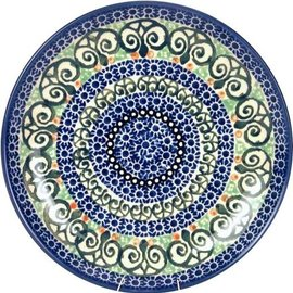 Ceramika Artystyczna Dinner Plate Stained Glass