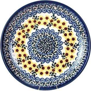 Ceramika Artystyczna Dinner Plate Sunflower