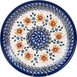 Ceramika Artystyczna Dinner Plate Golden Amber