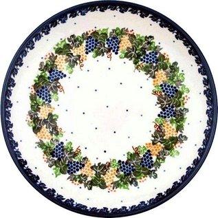 Ceramika Artystyczna Dinner Plate Napa Valley