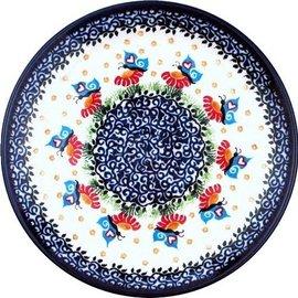 Ceramika Artystyczna Dinner Plate Butterfly Love