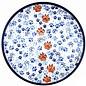 Ceramika Artystyczna Dinner Plate Paw Prints