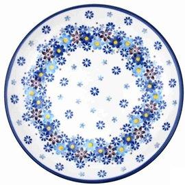 Ceramika Artystyczna Dinner Plate Blossom Blue