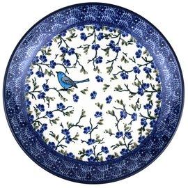 Ceramika Artystyczna Dinner Plate Meadow Wren