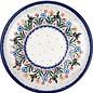 Ceramika Artystyczna Dinner Plate Bumble Bee Garden