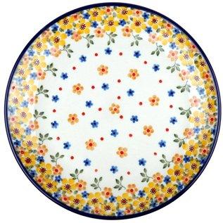 Ceramika Artystyczna Dinner Plate April Flowers