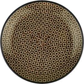 Ceramika Artystyczna Dinner Plate Brown Cubix