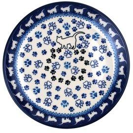 Ceramika Artystyczna Deep Dinner Plate Meow II