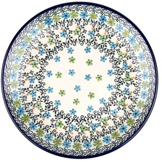 Ceramika Artystyczna Dinner Plate Bailey's Garden