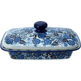 Ceramika Artystyczna Flat Butter Dish U4785 Signature