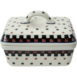Ceramika Artystyczna Rectangular Butter Dish 2109X