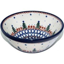 Ceramika Artystyczna Kitchen Bowl Size 1 Starry Night Green