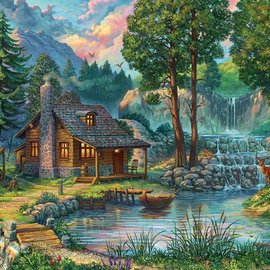 House by the Lake Puzzle