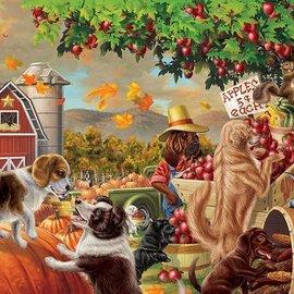 Puzzle Harvest Market Hounds