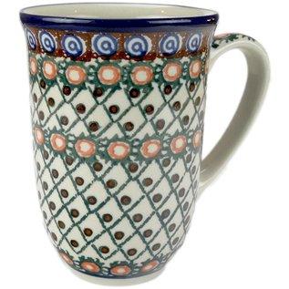 Ceramika Artystyczna Bistro Cup Cobblestone Trail Signature