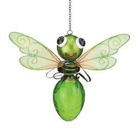 Solar Dragonfly Lantern Green