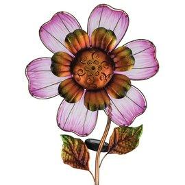 SOLAR GIANT FLOWER STAKE - PINK