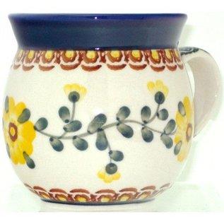 Ceramika Artystyczna Bubble Cup Small Rose Yellow