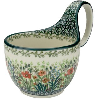 Ceramika Artystyczna Soup Cup Prairie Blossoms Signature