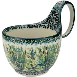 Ceramika Artystyczna Soup Cup Prairie Marshland Signature