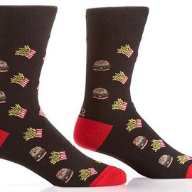 Sox Mens Burger & Fries Size: 7-12