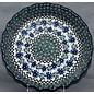 Ceramika Artystyczna Deep Pie Plate Periwinkle