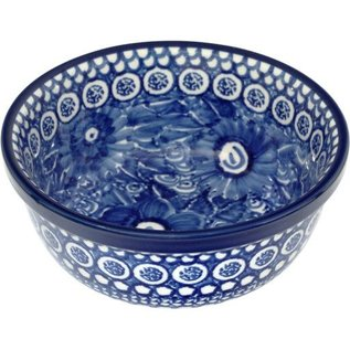 Ceramika Artystyczna Modern Bowl Size 2 Romance (In Blue) Signature