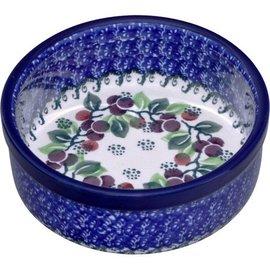 Ceramika Artystyczna Ramekin Size 2 Cranberry Vine