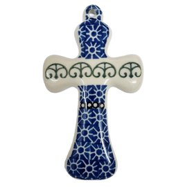 Ceramika Artystyczna Cross Size 2 Stained Glass