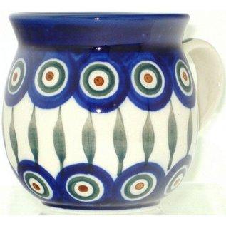 Ceramika Artystyczna Bubble Cup Small Royal Peacock