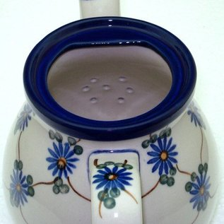 Ceramika Artystyczna Bedtime Teapot Size 2 Daisy Chain