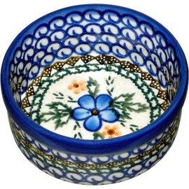 Ceramika Artystyczna Ramekin Size 1 Apple Blossom Blue