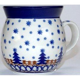 Ceramika Artystyczna Bubble Cup Medium Starry Night Blue