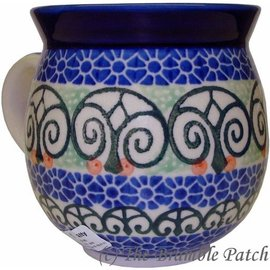 Ceramika Artystyczna Bubble Cup Medium Stained Glass