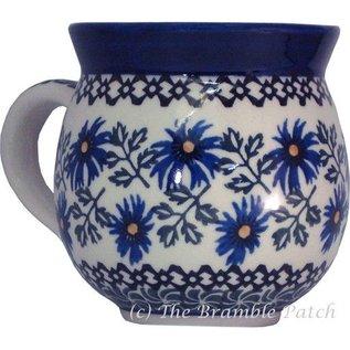 Ceramika Artystyczna Bubble Cup Medium Periwinkle