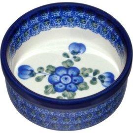 Ceramika Artystyczna Ramekin Size 1 Blue Rose