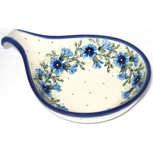 Ceramika Artystyczna Spoon Rest Size 2 Carnation