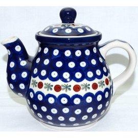Ceramika Artystyczna Bedtime Teapot Size 2 Royal Cranberry