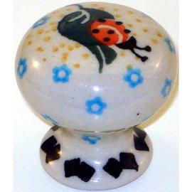 Ceramika Artystyczna Drawer Pull Ladybug