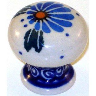 Ceramika Artystyczna Drawer Pull Prairie Daisies