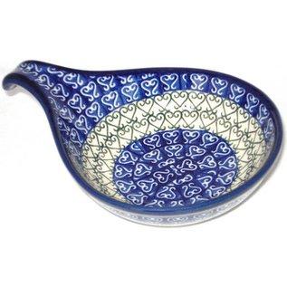 Ceramika Artystyczna Spoon Rest Size 2 Filigree