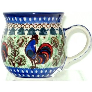 Ceramika Artystyczna Bubble Cup Small Rooster (Chanticleer) Signature