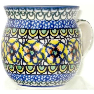 Ceramika Artystyczna Bubble Cup Small Cottage Yellow Signature