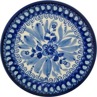 Ceramika Artystyczna Bread & Butter Plate Blue on Blue Signature