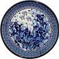 Ceramika Artystyczna Luncheon Plate Midnight Gardens Signature