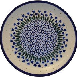 Ceramika Artystyczna Luncheon Plate Winter Tulips