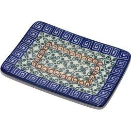 Ceramika Artystyczna Rectangular Soap Dish Autumn